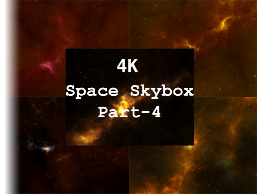 4K Space Skybox Part - 4