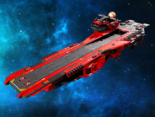 Federation Supercarrier GB4