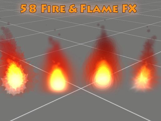 50+ Fire and Flame FX