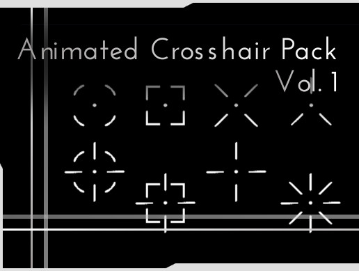 Animated Crosshair Pack Vol. 1