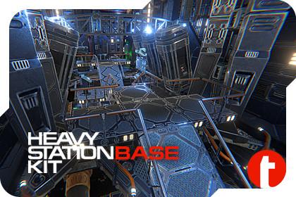 Sci-Fi Heavy Station Kit base