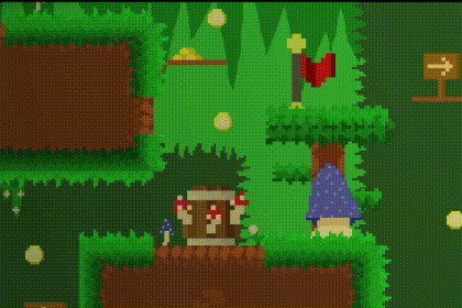 2D Pixel Art - Deep Caves 16x16
