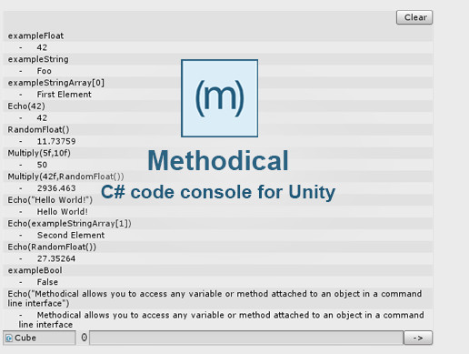 Methodical - Command Line Interface For Unity