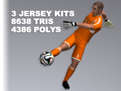 Goalkeeper Player 8638 Tris