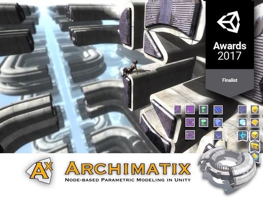 پکیج یونیتی Archimatix Pro