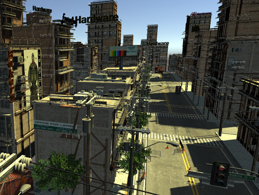 Unity 3D - JYJ City Environment Package 1 by JYJ studios