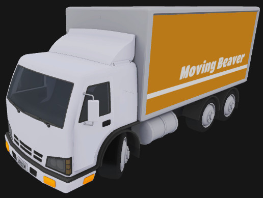 Stylized Toon Truck - Any colour, custom side panels
