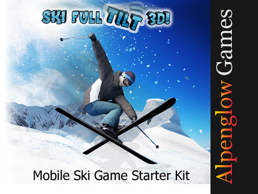Mobile Ski Game with Tilt Controls