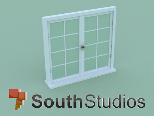 LowPoly Window A01