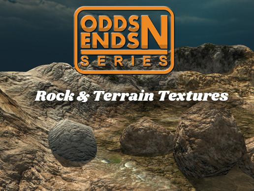 Odds N Ends - Rock & Terrain Textures