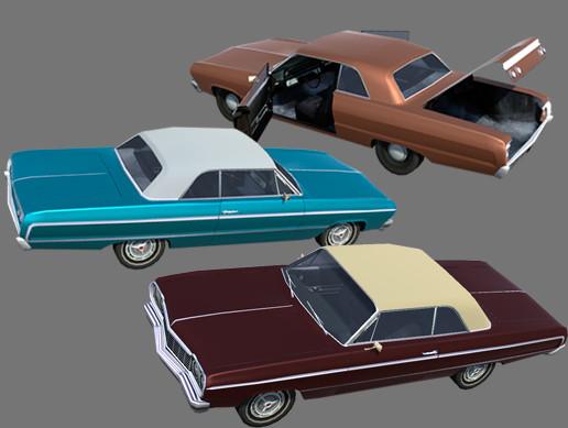 UAA - City Vehicles - Conall Coupe