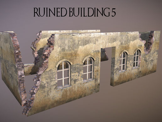 Ruined Building 5