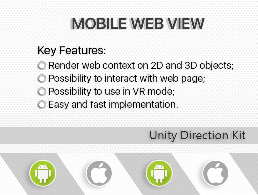 Mobile Web View (Android, iOS) - Asset Store