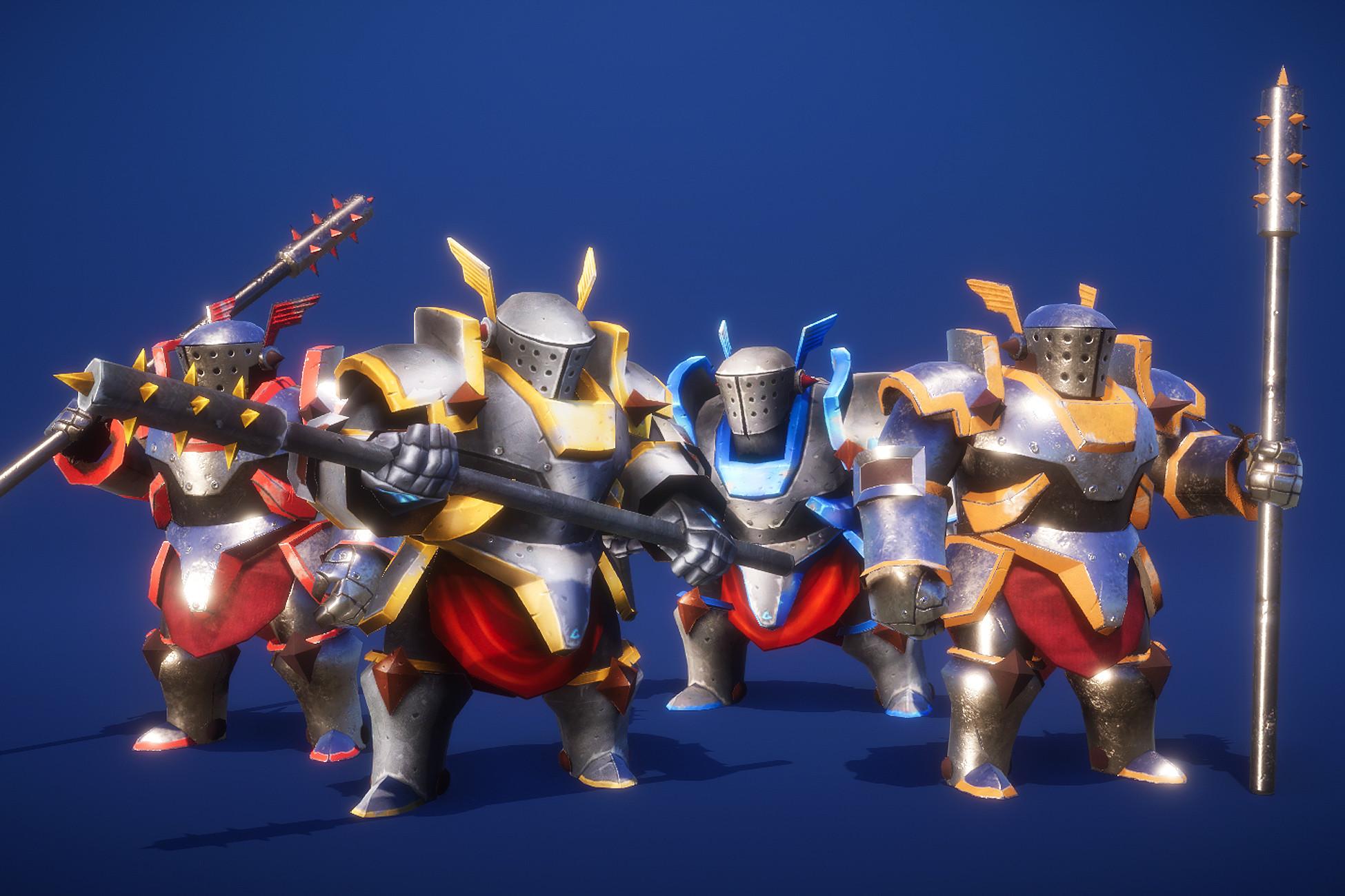 Heavy Knight PBR HP