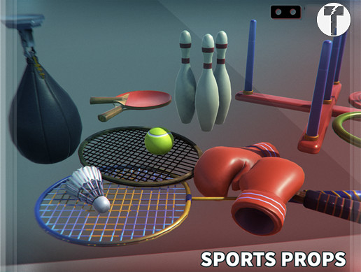 VR Sports Props