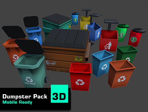 Dumpster Pack (Mobile Ready)