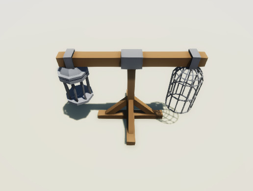 Low Poly Cages Pack