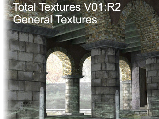 "Total Textures V01:R2 ""General Textures"""