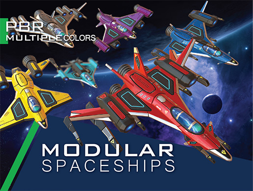 Star Sparrow Modular Spaceship