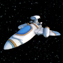 Galactic Heroes Cartoon Spaceship
