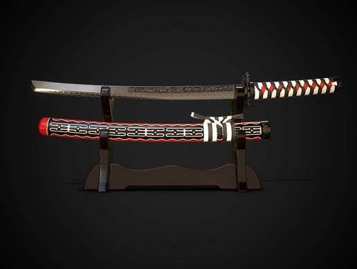 Samurai sword wakizashi No.02