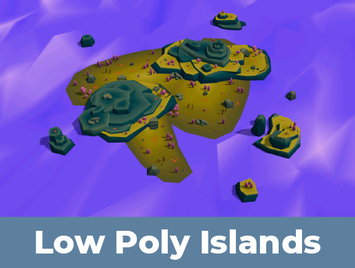 Low Poly Islands Pack