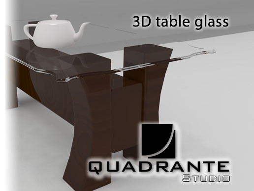 Simple Table Glass