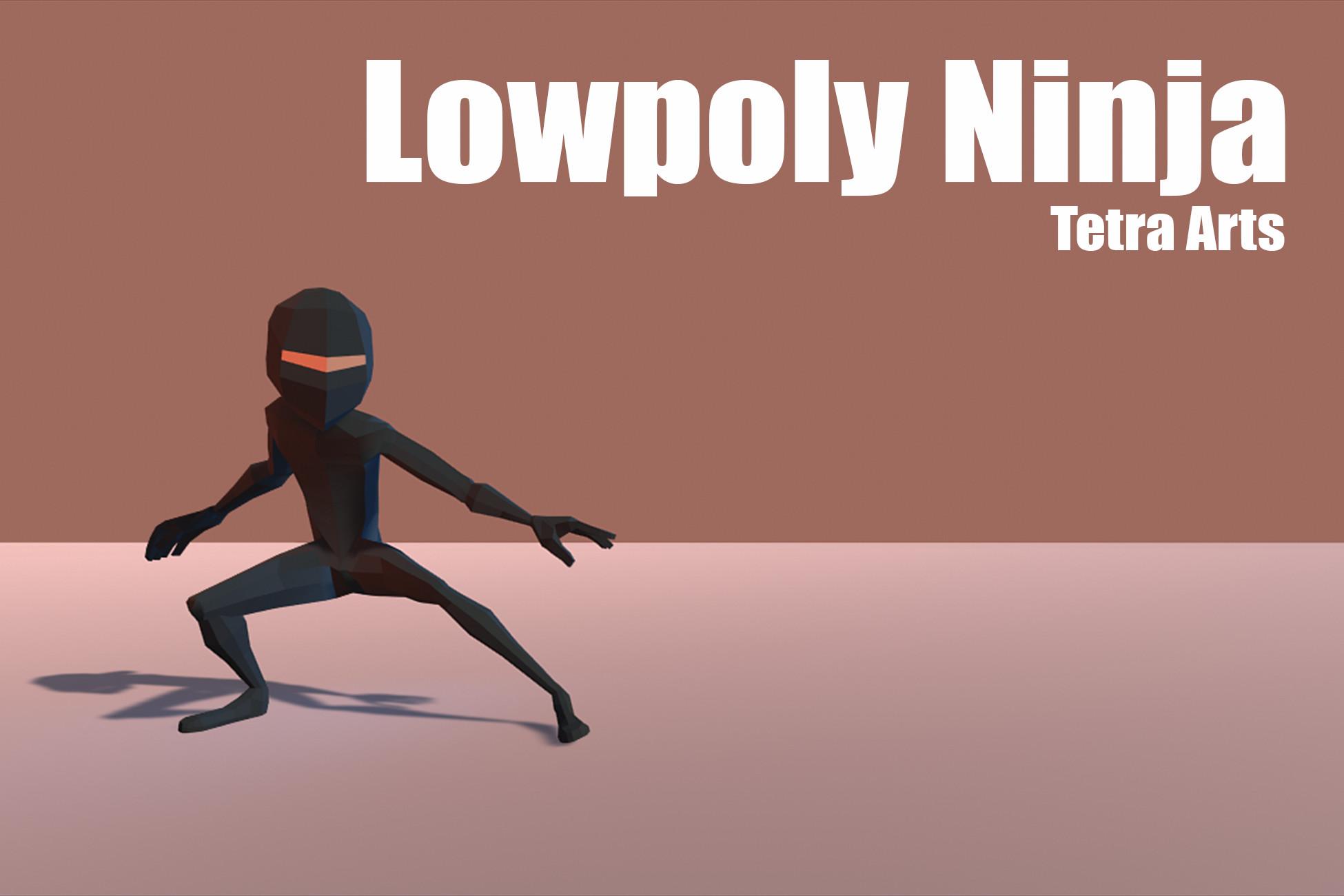 Lowpoly ninja