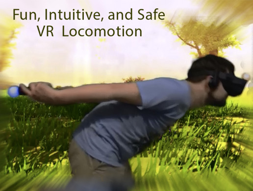 NinjaRun VR Locomotion