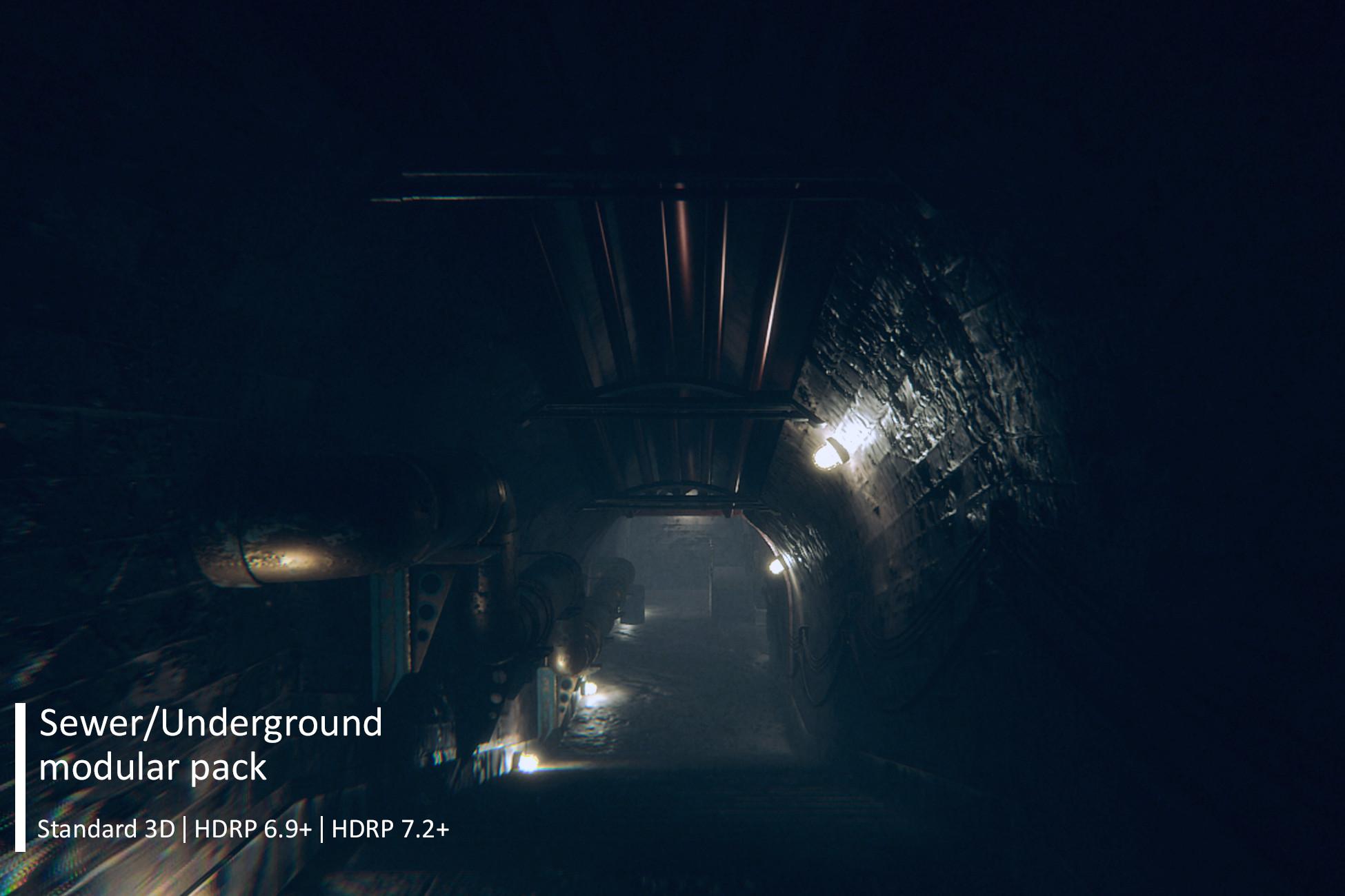 Sewer/Underground Modular Pack v4.0