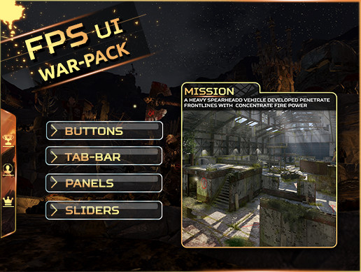 FPS UI - War pack