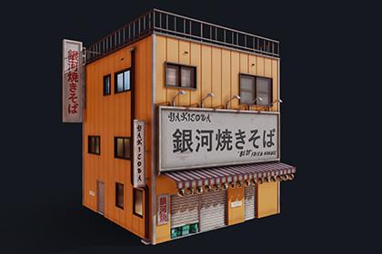 Japanese Yakisoba shop