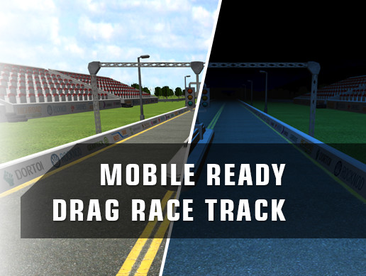 Mobile Ready Drage Race Track