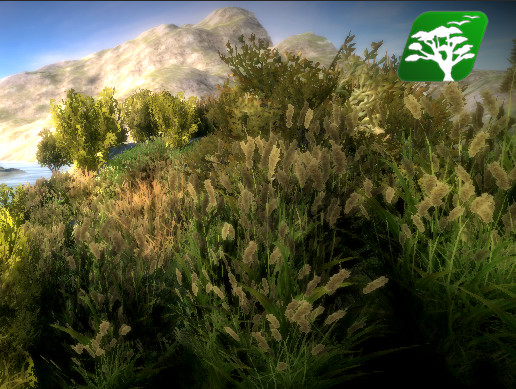 Realistic Grass and Bush Pack1