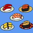Japanese-Sushi 2D