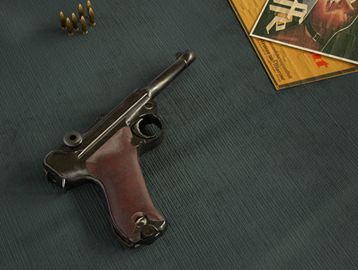 PBR Weapons - World War II German Pistol