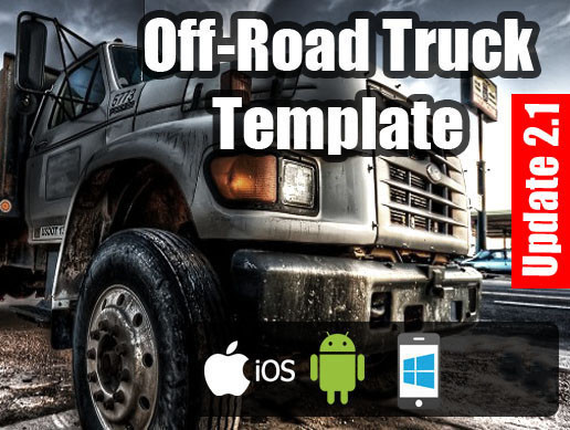 Off-Road Truck Template 2