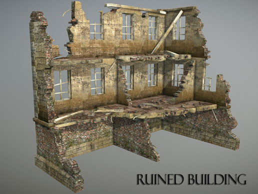 Ruined Building 1