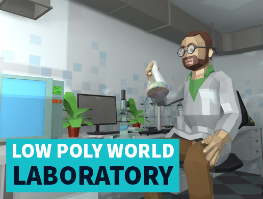 LOW POLY WORLD - LABORATORY