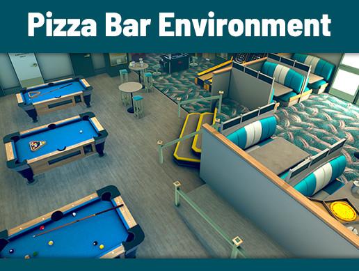 Pizza Bar Environment Assets