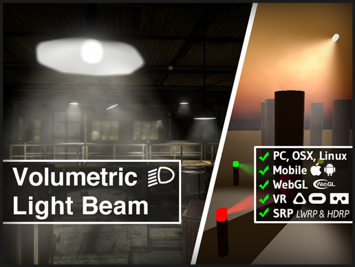 Volumetric Light Beam - Asset Store
