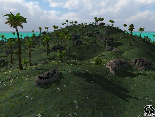 Tropical Island Terrain