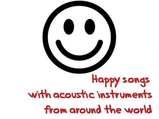 Happy Songs with Instruments from the World