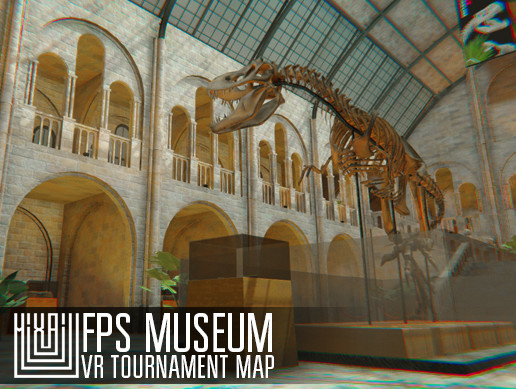 FPS Museum - VR tournament map