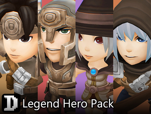 Legend Hero Pack