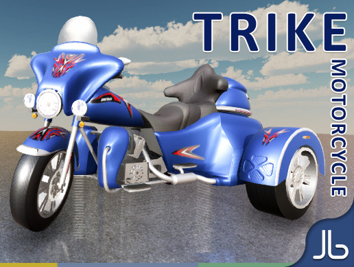 Trike Motorcycle (HQ)