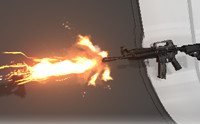 Impacts and Muzzle Flashes