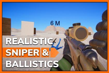Realistic Sniper and Ballistics System