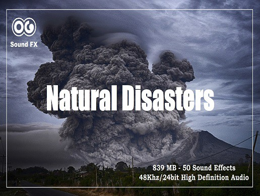 Natrual Disasters Sound Effects Pack (From Unity 5.3.0)