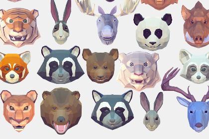 Poly Art Animal Icons